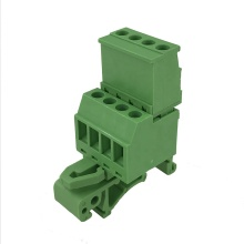 4pin 28-12AWG 35mm pluggable Din rail terminal block