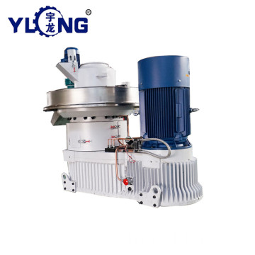 YULONG XGJ560 biomass mango wood pellet press machine