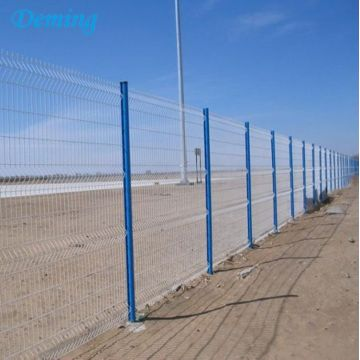 Curve Home Garden 3D Welded Wire Mesh Fence