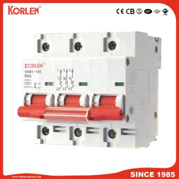 KNB1-100 MCB 10ka with Good Copper Silver Contact