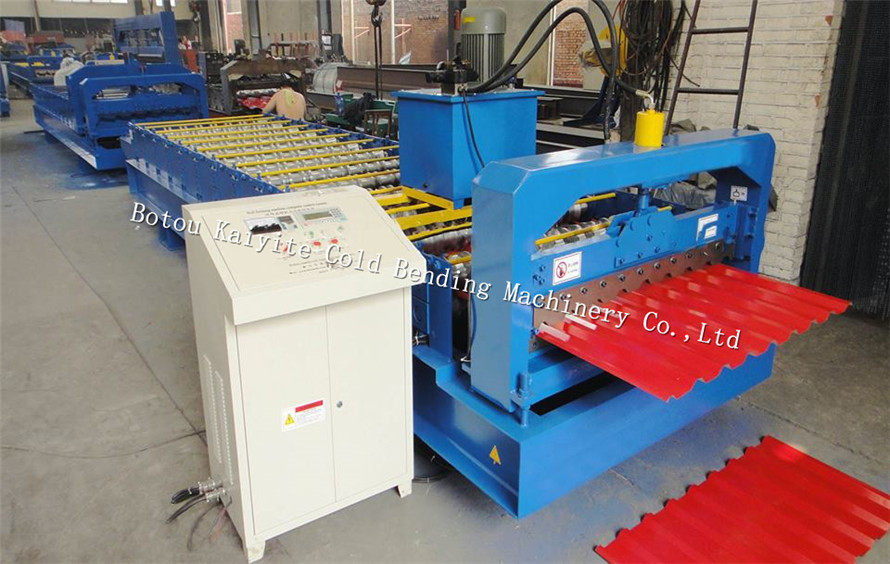IBR metal roofing tile roll forming machine