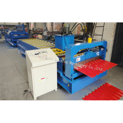 Automatic IBR Metal Roof Tile Machine With CE