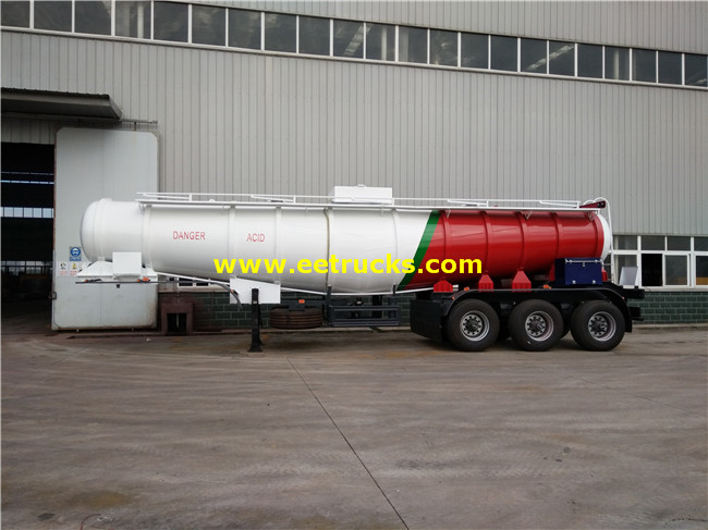H2so4 Delivery Semi Trailers