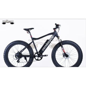 26*4.0 inch 750W beach snow fat tire electric bike