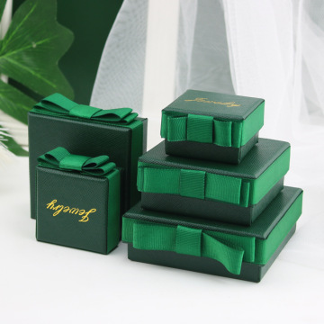 Elegant High-Class Cardboard Luxury Jewelry Box Set