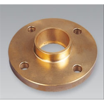 Full copper equal steel flange