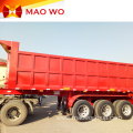 Heavy Duty Hydraulic 60 Ton Dumping Semi Trailer
