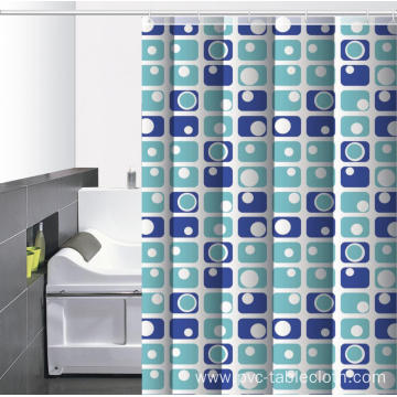 Waterproof Bathroom printed Shower Curtain Farmhouse