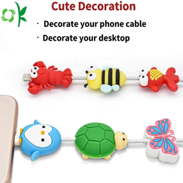 Cute Animals Insects Design Cable Protector