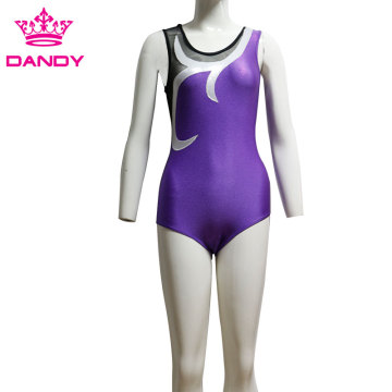 Girls Gymnastics Sleeveless Training Leotard