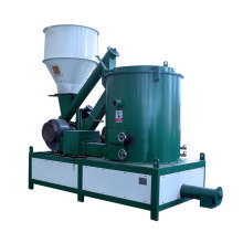 Biomass burner use biomass pellets