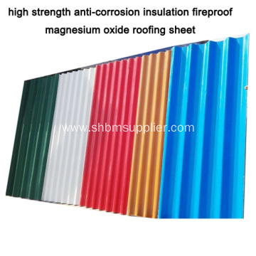 Firproof MGO RoofingSheet Roofing Materials In Indian