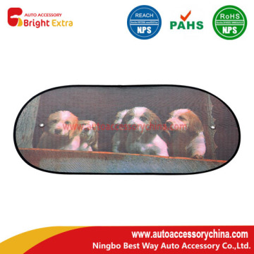 Cartoon Car Sunshade For Rear Window