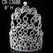 Big Rhinestone Pageant Crowns