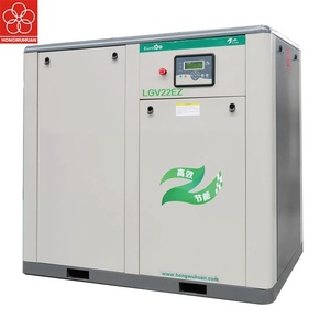 22kw direct variable frequency screw air compressor