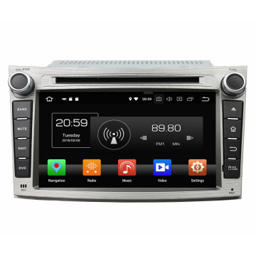 2 din multimedia system for Legacy outback 2009-2012
