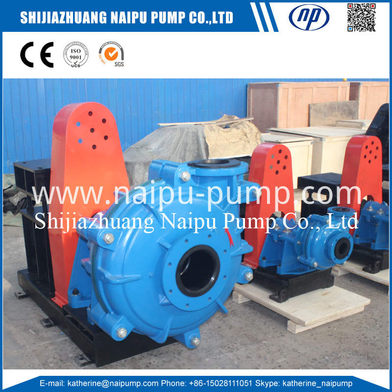 Horizontal slurry pump