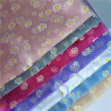 Great fashion Daisy Offset Organza Tulle Fabric