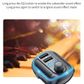 Car MP3 With Aperture Breathing Light Blue Light MP3 Player Bluetooth Quick Charge Bluetooth Handsfree Car Kit Accessory For Car