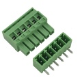 KB type 3.81mm pitch PCB pluggable terminal block