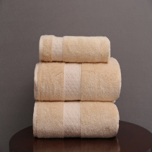 hotel 3 pieces bath towel set