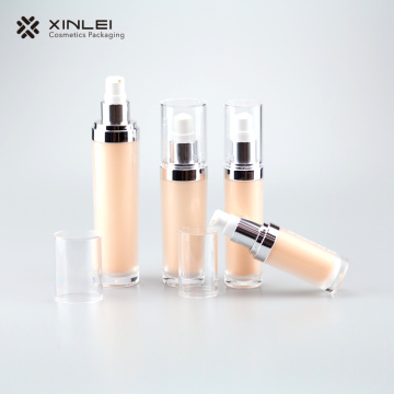 60ml  Classic Round Cosmetic Acrylic bottle