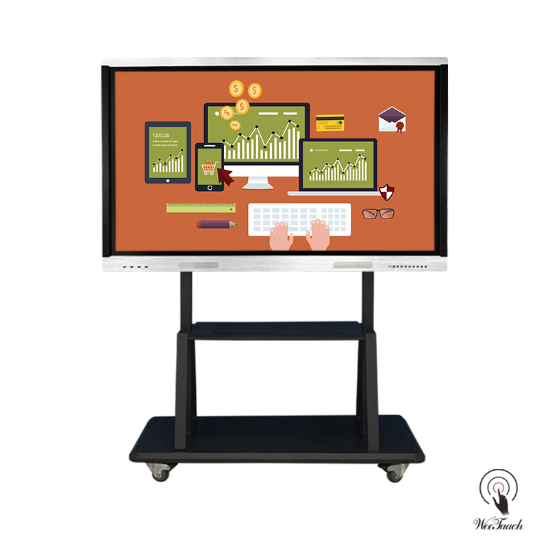 75 Touch Screen Flat Panel with mobile stand