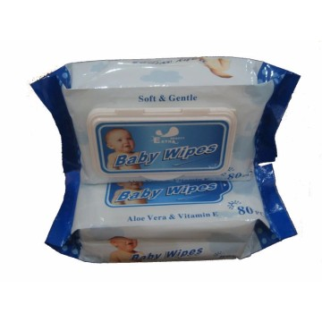 Customized Printed Dust Free Cleansing Baby Wet Wipes