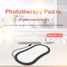 Portable near infrared red light therapy body wrap