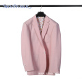 Slim Fit Casual Business Blazer Pink Party Suits