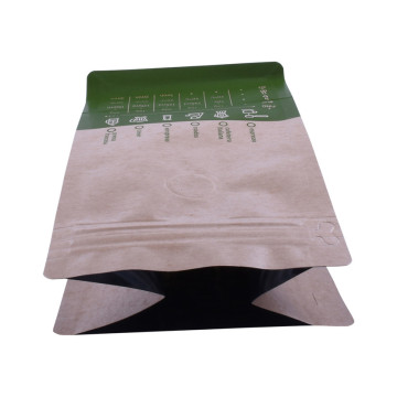 Waterproof Matt Laminate kraft paper zip lock bag