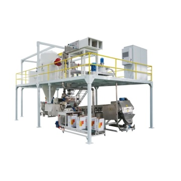 Powder coating production line for 100-1200KG/h