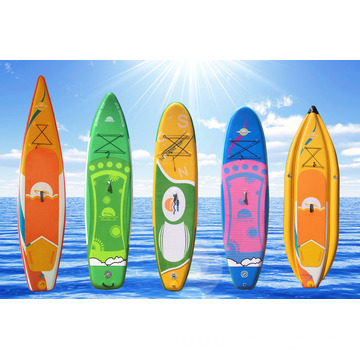 Inflatable Paddle Big Epoxy Soft Top Board Sup
