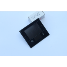 Tempered Switch Panel Touch Glass Button Design