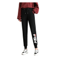 Womens Comfortable Leisure Pattern Cotton Sports Pants