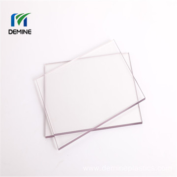 Harden coating solid polycarboante sheet