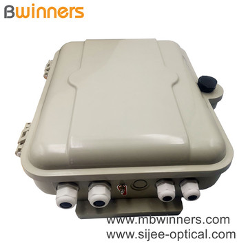 Outdoor 1X16 Plc Splitter Smc Wall-Mounted Fiber Optical Distribution Box
