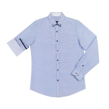 Men's Long Sleeve Woven Shirts in summer
