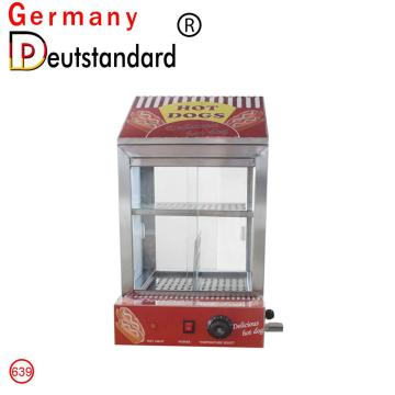 Hot Dog Dampfer Schaufenster Display