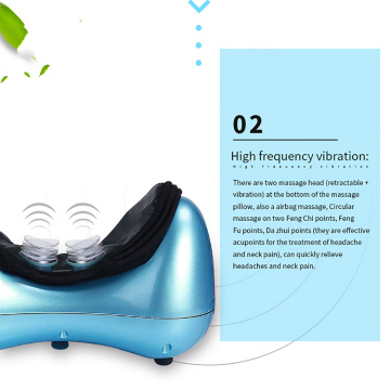 vibrating neck massage instrument traction pillow