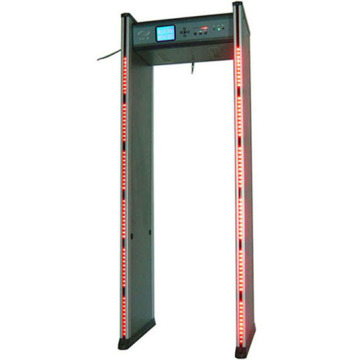 Detector of body scanner metal