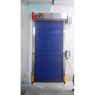 Industrial Automatic PVC Freezing Zipper Cold Storage Door