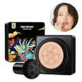 15g Air Cushion BB Cream Mushroom Head Foundation Concealer Moisturizing Natural Brightening Makeup Ivory White/Natural