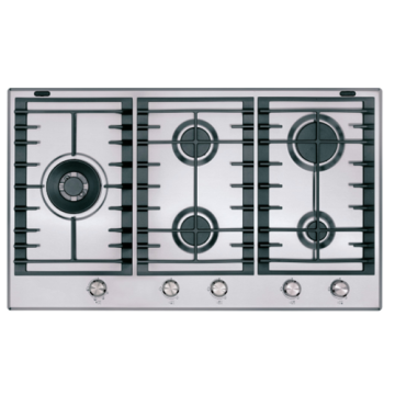 Kitchenaid Gas Hobs 5 Burner Stainless Steel