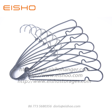 EISHO PVC Coated Anti-Slip Metal Hangers