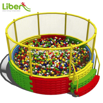 Indoor kids plastic ball pool for sale