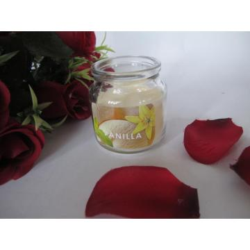 Vanilla Scented Best Selling Glass Candle