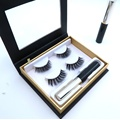 Synthetischer Nerz Wimpern Magnet Eyeliner Wimpern Set