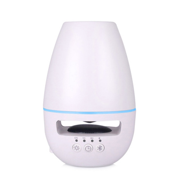 Pembesar Suara Bluetooth Terbaru Ultrasonic Oil Aroma Diffuser Black