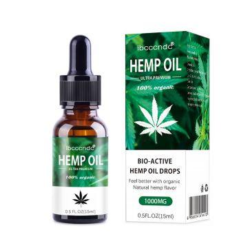 15/30ml Hemp OIL Relieve Muscle Soreness Pain Improve Sleeping Herbal Massage Essential Essence Hemp Seed Oil Body